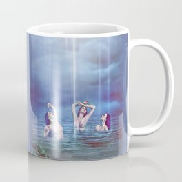 Midnight At Mermaid Lagoon Coffee Mug