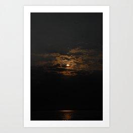 Rocky Point Skies Art Print