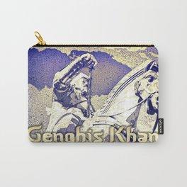 Spirit of the Great Gobi Desert - Genghis Khan Carry-All Pouch