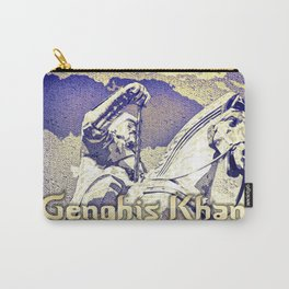 Spirit of the Great Gobi Desert - Genghis Khan Carry-All Pouch