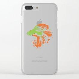 Betta Splendens Shirt Cute Bettas Siamese Fighting Fish Gift Clear iPhone Case
