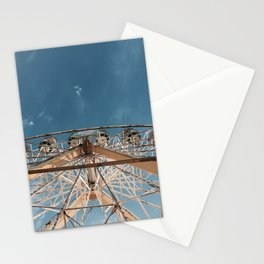 Love above the clouds Stationery Cards