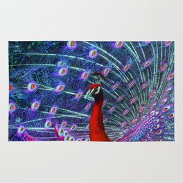 A Different Kind of Peacock Rug