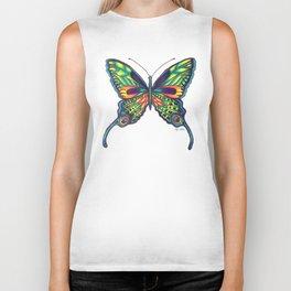 Butterfly Biker Tank