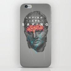 Loving & Saving iPhone Skin