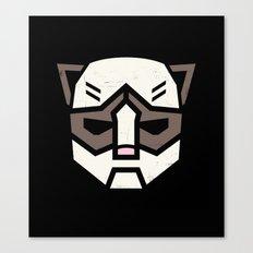 Grumpybot Canvas Print