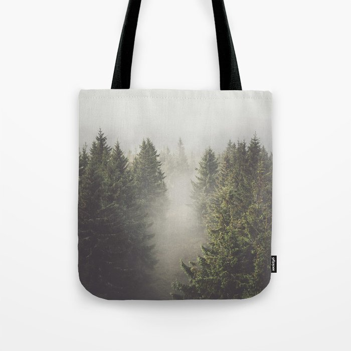 My misty way - Landscape and Nature Photography Tote Bag