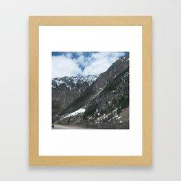 Mountain Slope Framed Art Print