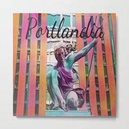 Portlandia Metal Print
