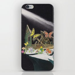 New Home on Mars iPhone Skin