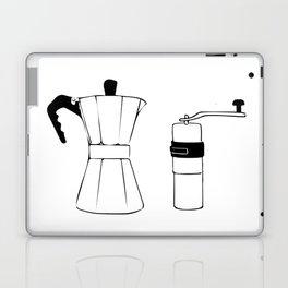 Coffee Tools: Moka Pot & Coffee Grinder Laptop & iPad Skin