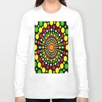 rasta Long Sleeve T-shirts featuring Rasta by Liqrush