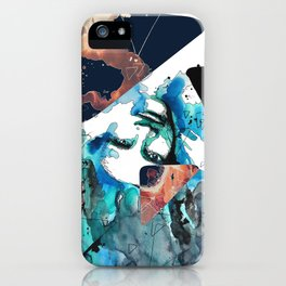 Verso by carographic, Carolyn Mielke iPhone Case