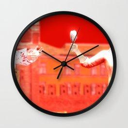 SquaRed: No pain No Gain Wall Clock