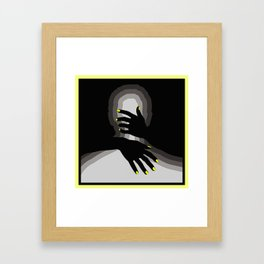 'in your arms' Framed Art Print