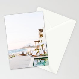 Sun-Kissed Vacations in Baja, Mexico Stationery Cards