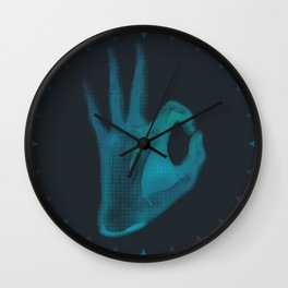 X-Ray I'm OK Wall Clock