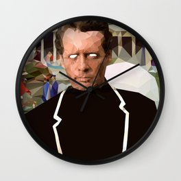 The Prisoner Wall Clock
