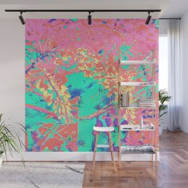 Wisteria 1 Pink Wall Mural