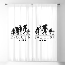 Poker Darwinism Blackout Curtain
