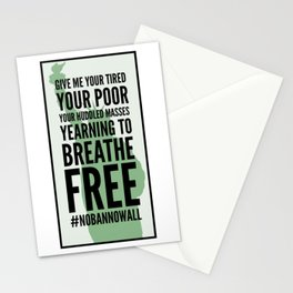 Statue of Liberty Quote Stationery Cards