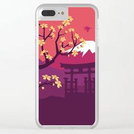 Mount Fuji Clear iPhone Case