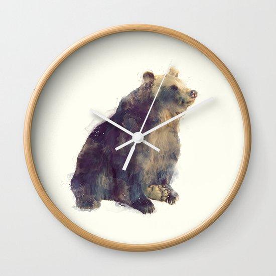 Bear // Nova Wall Clock