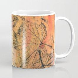 Orange Blackcurrant Leaves Coffee Mug