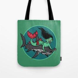 Mermaid Mayhem Tote Bag