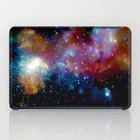 milky way iPad Cases featuring Milky Way by Upperleft Studios