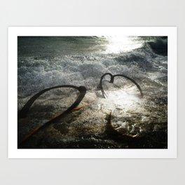 A Place Near the Sea. Art Print
