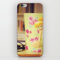 gift card iPhone & iPod Skins featuring Gift by LaFranCy