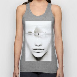 in thoughts Unisex Tank Top