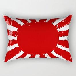 Japan Rising Sun Rectangular Pillow