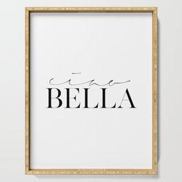 CIAO BELLA PRINTS, Spanish Quote,Spanish Decor,Gift For Her,Baby Print,Nursery Girls,Modern Art,Mode Serving Tray