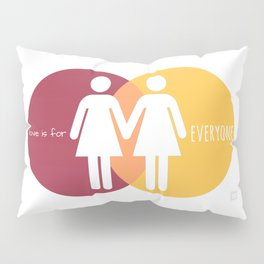 Love Is For Everyone - Her & Her Pillow Sham