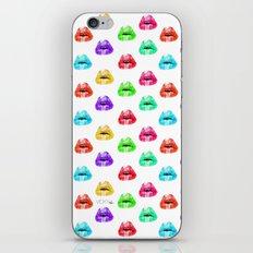 Lip Print iPhone & iPod Skin