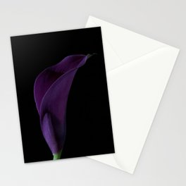 The Calla Purple 2 Stationery Cards