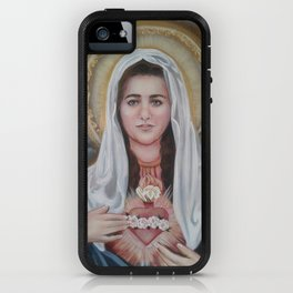 The Immaculate Heart of Mary iPhone Case