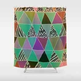 Triangle 3 Shower Curtain