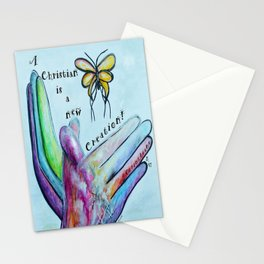 A Christian is a New Creation Stationery Cards