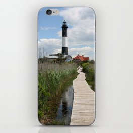 Fire Island Light With Reflection - Long Island iPhone Skin