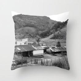 When time stood still Throw Pillow