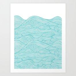 Waves Kunstdrucke