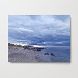 Funnel Cloud and the Coast Metal Print