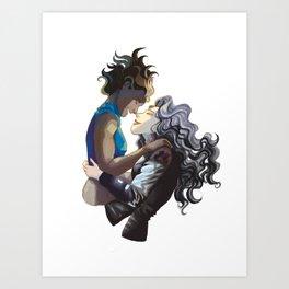 Korra and Asami - Legend of Korra Art Print