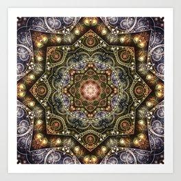Mandalas from the Voice of Eternity 8 Art Print