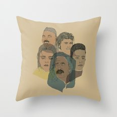 Arabian Nights Portraits Throw Pillow