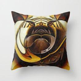 I B Brisco Throw Pillow