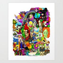 EPIC 25  Art Print